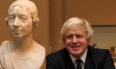 Boris Johnson at the V&A museum