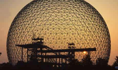 Buckminster Fuller's geodesic dome, Biosphere Montreal