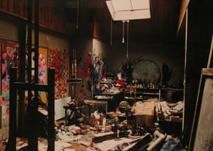 Compton Verney - studios: 7 Reece Mews, Francis Bacon's Studio