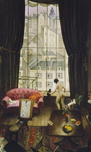 Compton Verney - studios: A Studio in Montparnasse (1926) by Christopher Richard Wynne Nevinson