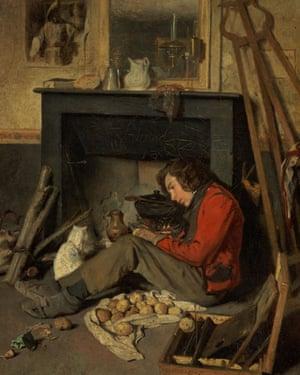 Compton Verney - studios: Interior of a Studio (1845) by Octave Tassaert