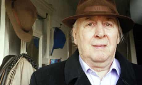 JG Ballard, author, at home in Shepperton