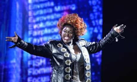 Sharon D Clarke in We Will Rock You