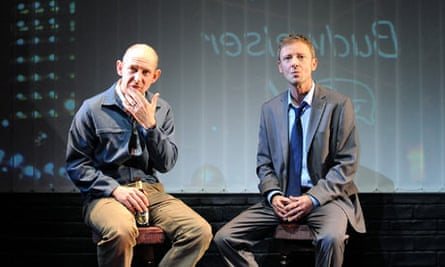 Ian Hart, left, and John Simm in Speaking in Tongues