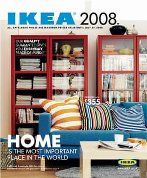 Futura gallery: The cover of the Ikea catalogue 2008, using the Futura font