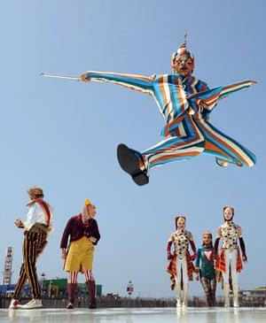 Cirque du Soleil perform in Santa Monica in May 2009