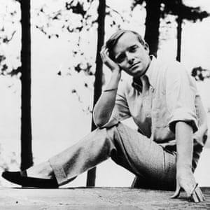 Truman Capote, author of Breakfast at Tiffany's