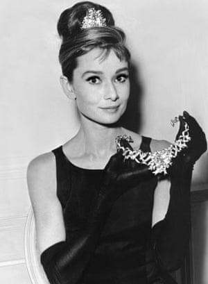 Breakfast at Tiffany's star Audrey Hepburn