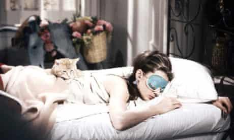 Audrey Hepburn in the film of Breakfast at Tiffany's