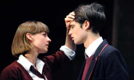 Tom Sturridge (William Carlisle) and Jessica Raine (Lily Cahill) in Punk Rock