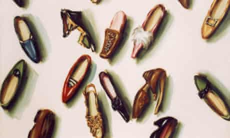 Shoes 1987 (2009) by artist Lisa Milroy