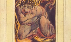 The First Book of Urizen, Plate 7, by William Blake