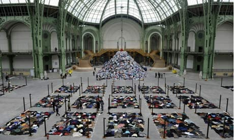 Christian boltanski it 39 s a jumble out there art and design the guardian - Exposition grand palais paris ...