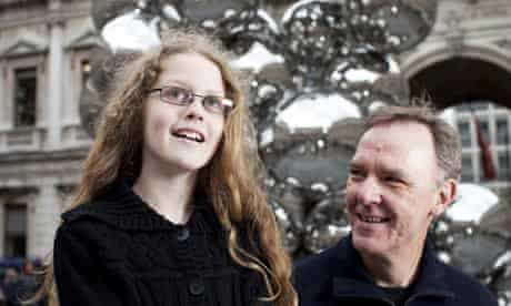 Isabella Welch, winner of this years Guardian young art critic award,