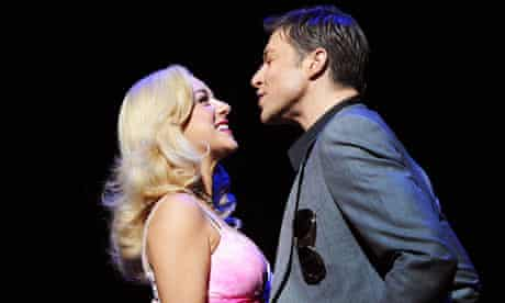Sheridan Smith and Duncan James in Legally Blonde at Savoy Theatre