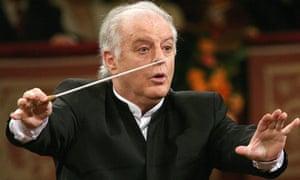 Argentinian-born Israeli conductor Danie