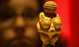 The Venus of Willendorf sculpture, dated 25,000BC