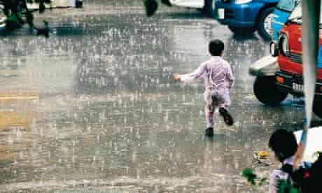 Mohammad Arif Ali's photograph of rain in Lahore