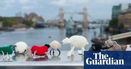 The graffiti knitting epidemic   Art and design   The Guardian