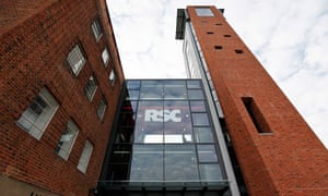 the revamped Royal Shakespeare theatre