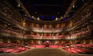 Royal Shakespeare theatre stage
