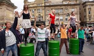 Clog dancing in Newcastle