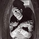 Boris Karloff in Coffin