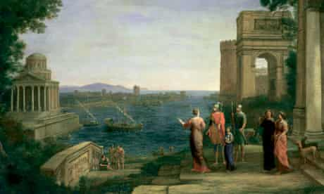 Aeneas and Dido in Carthage, 1675