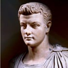 Marble bust of Emperor Caligula