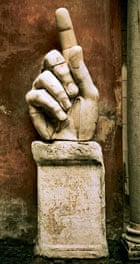 Colossal hand of Constantine II, AD330