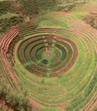 Moray Inca archaeological site in Peru