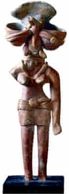 Mother Deity from Mohenjo Daro / Sculpt