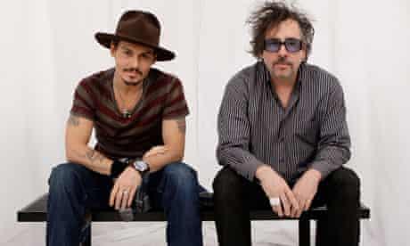Vueltas y vueltas aburrido llegada  Johnny Depp and Tim Burton team up again for eighth film   Johnny Depp    The Guardian