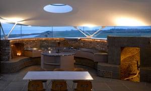 Martello tower kitchen