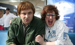 David Walliams and Matt Lucas in Come Fly With Me