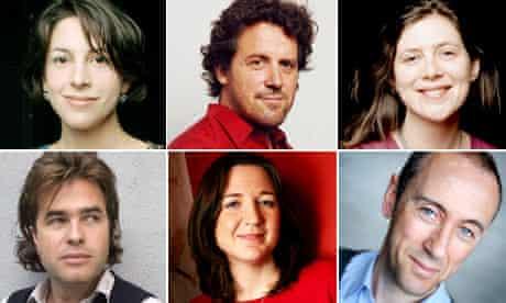Natalie Abrahami, Dominic Dromgoole, Erica Whyman, Rupert Goold, Josie Rourke and Nicholas Hytner