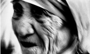 Mother Theresa by Max Vadukul