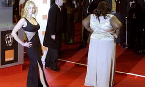 Gabourey Sidibe and Kate Winslet at the Baftas