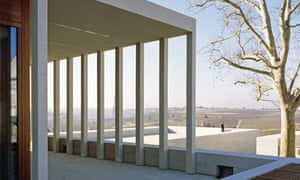The Museum of Modern Literature, designed by architect David Chipperfield