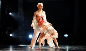 Robbie White and Charlie Bruce perform on the BBC's So You Think You Can Dance