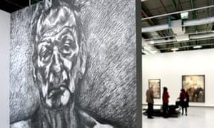 Lucian Freud exhibition at the Pompidou Centre in Paris
