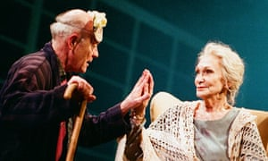 Sian Phillips and Michael Byrne in Juliet and Her Romeo at the Bristol Old Vic