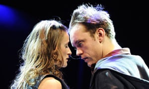 Sam Troughton and Mariah Gale in the RSC's Romeo and Juliet at the Courtyard Theatre
