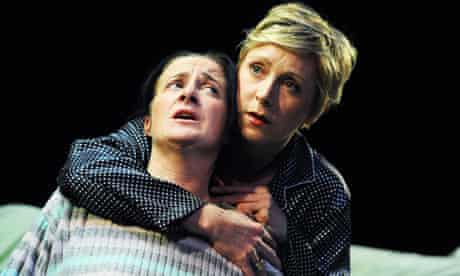 Cathy Murphy and Laura Howard in Two Women at Theatre Royal Stratford East