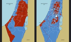 Richard Hamilton - Maps of Palestine