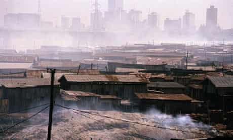 Cityscape of Lagos, Nigeria