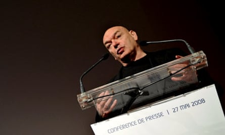 French architect Jean Nouvel