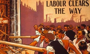 Labour poster from 1909