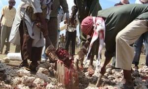 Stoned to Death, Somalia, 13 December.