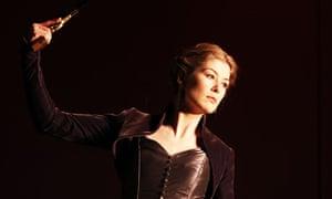 Rosamund Pike in Hedda Gabler at Theatre Royal Bath